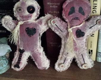 Pair of Voodoo dolls