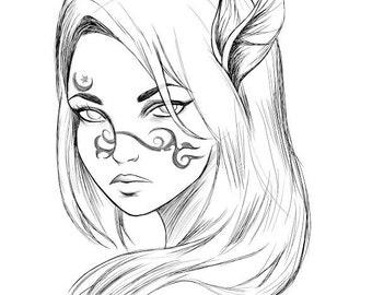 Dragon Priestess Print