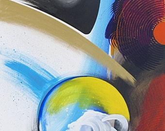 Abstract Original Art, Series X: Cb