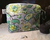"Knitting Project Bag ""Chipmunk fun"" (Medium Wedge)"