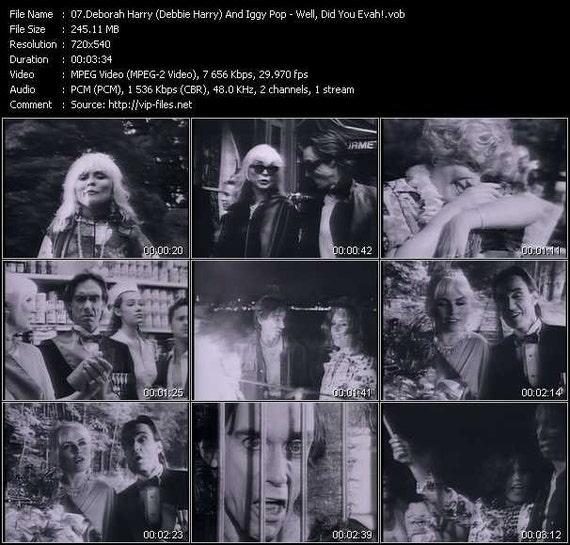 Deborah Harry Blondie Solo Video Collection 2 Dvd Set Rare