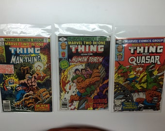 Marvel Comics Marvel Two-In-One 6 Comic Set