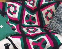 Popular Items For Dresden Plate Quilt On Etsy