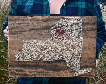 Nail & string art state
