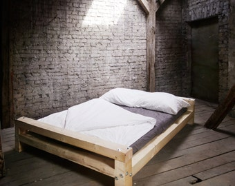Timber bed, custom made to measure