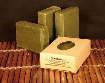 Spearmint Handcrafted Soap