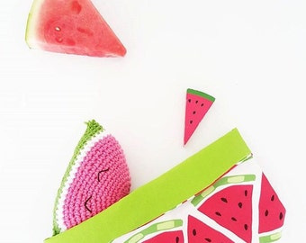 Crochet Watermelon