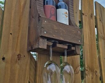 Two Bottle Wine Rack
