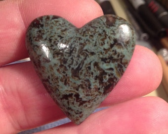 Horse Canyon Moss Agate Cabochon/Pendent