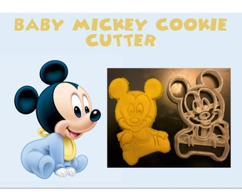 Baby Mickey Mouse Cookie Cutter