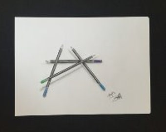 Drawing - Coloured Pencils #2