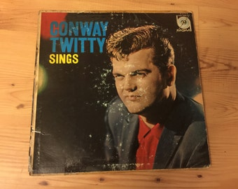 Conway Twitty Sings 1950-60 LP MGM High Fidelity Microgroove E3744