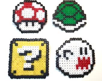 Mario 8 Bit Characters