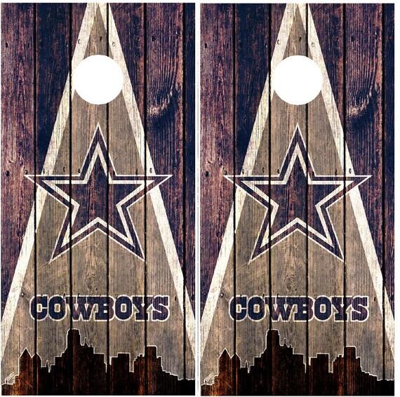 Dallas cowboys cornhole board decals set by quickphixcreations - Cabinet radiologie pont de claix ...