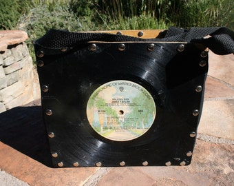 James Taylor Walking Man Album Souvenir PURSE/BAG