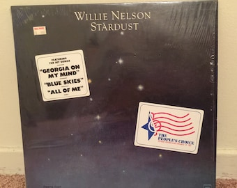 Willie Nelson Starburst Vinyl LP 1978