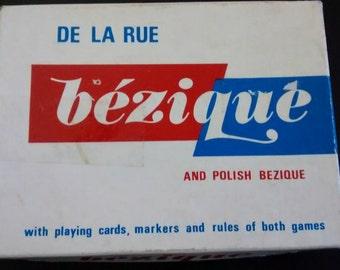 Vintage card game - bezique