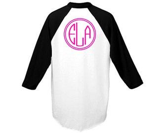 Pink Monogram Shirt