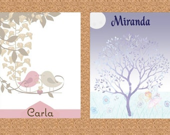 Personalized Notepads (2 designs)