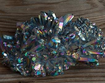 Titanium Quartz | Titanium Aura | Crystal Cluster | Rainbow Aura
