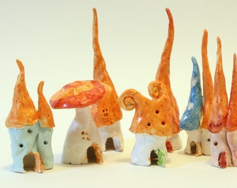 Orange-you-glad these are Fairy Houses?