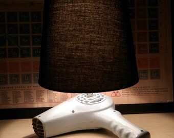 Retro Hairdryer Lamp