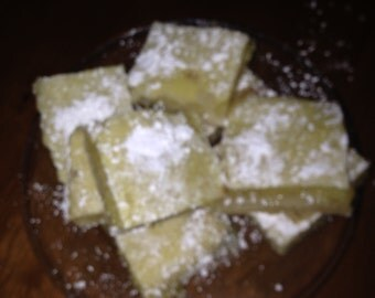 Homemade Fresh Lemon Bars