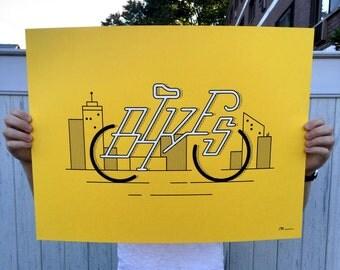 Art Print: Bikes