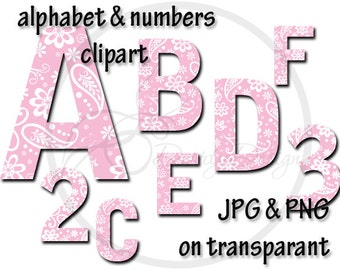 Alphabet clipart Doodles fonts, alphabet letters, letters and numbers clipart, Alphabet stencils, Scrapbook supplies, Alphabet set