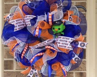 Baby Astros Wreath