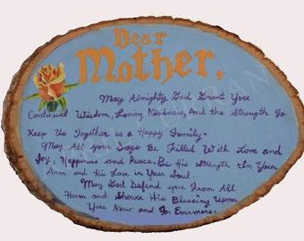 Dear Mother Prayer