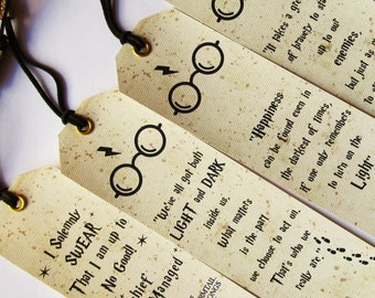 Bookmarks Set of 4 pieces Bookmarks