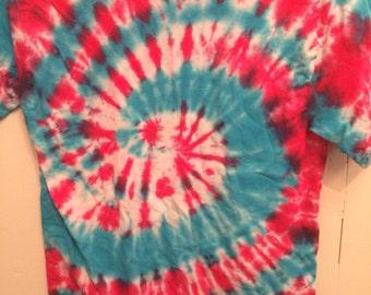 Adult Red/Blue Tshirt