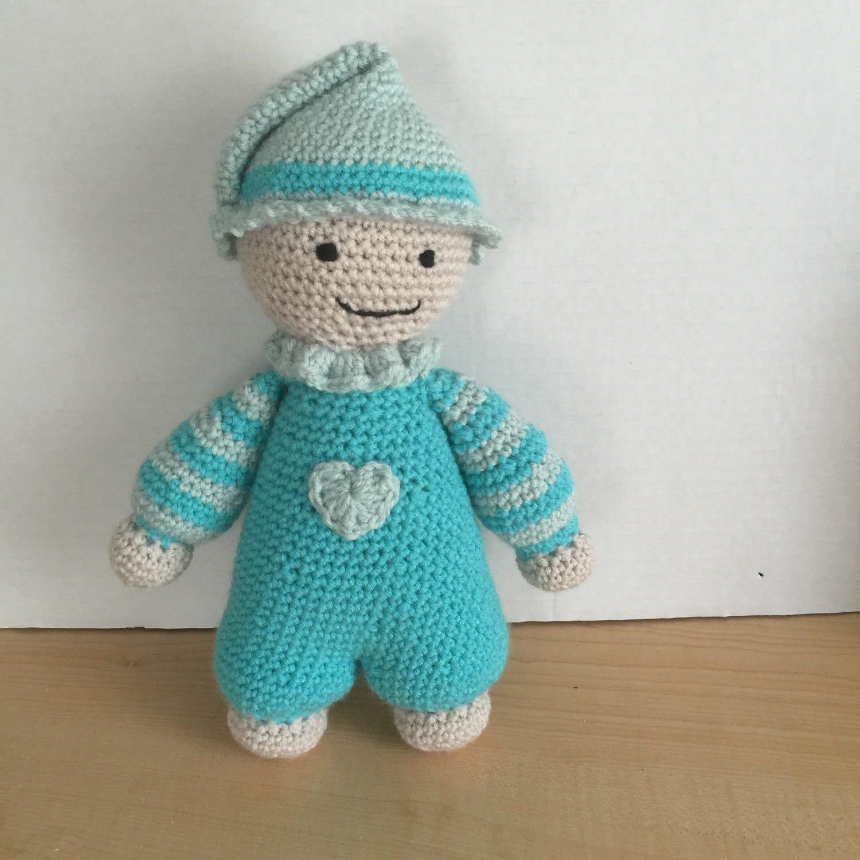 Crochet Baby Doll Amigurumi Soft Cuddle by HookedWithYarnShop