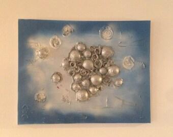 Energy Bubbles Canvas Art