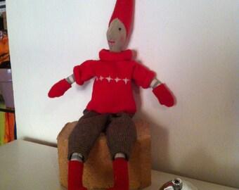 Tilda GNOME doll