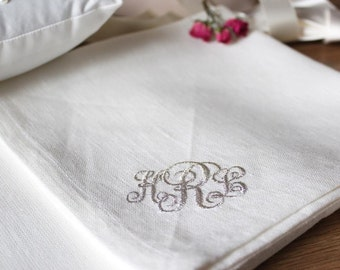 Napkins Personalized home decor Personalized gift  Napkins cloth Wedding napkins Custom napkins Monogrammed napkins Bridal napkins Linen