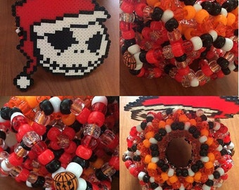 Any Custom 2 Layer (3 X base) 3D Kandi Cuff