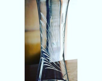 Mouthblown Handmade Glass Vase