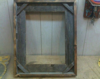 Barnwood picture frame