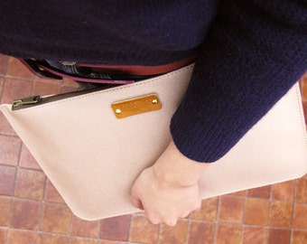 Clutch bag (Champagne Pink Gold)
