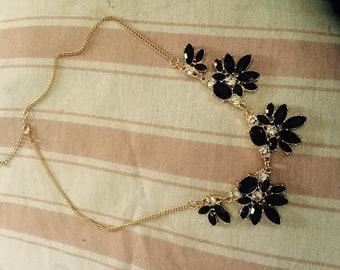 Black Fashion Necklace