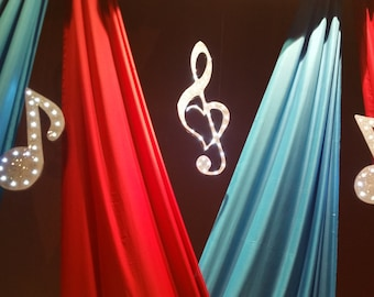 Music Symbol with Led Light