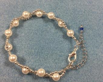 Swarovski Elemeny Wavy Preal Bracelet