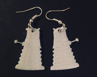 Dr Who Dalek Earrings