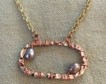 Copper My Darling Necklace