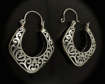 Sterling Silver Earrings for Repair, Scrap Silver, Make Pendants 10.9g