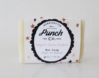 Super Shea Butter All Natural Organic Soap Bar
