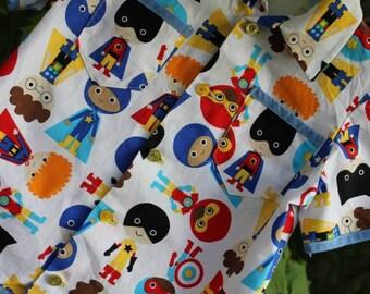 Superhero kids shirt