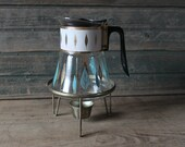 Retro coffee pot, with warming stand!